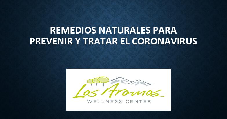 remedios naturales coronavirus